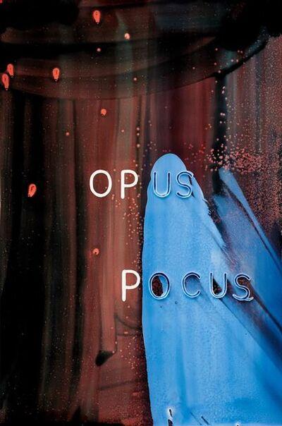 Graham Gillmore, 'Opus Pocus', 2016