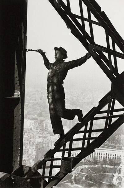 Marc Riboud, 'The Painter of the Eiffel Tower, Paris, France', 1953