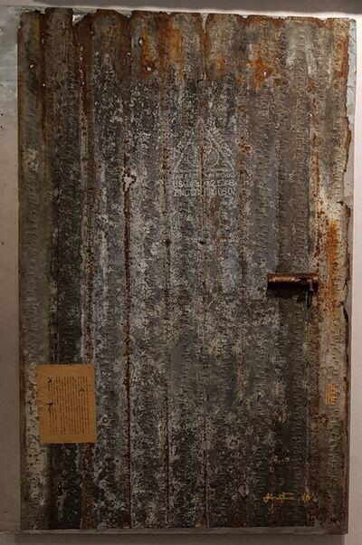 Wittaya Pised, 'A note on the Door ', 2017