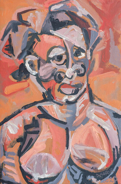 Anthony Nsofor, 'Nne (Before Braque, Picasso and co)', 2020