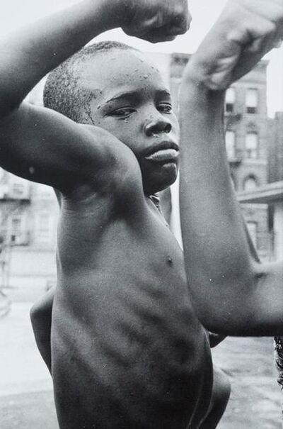 Leonard Freed, 'Muscle Boy, Harlem', 1963/1970s