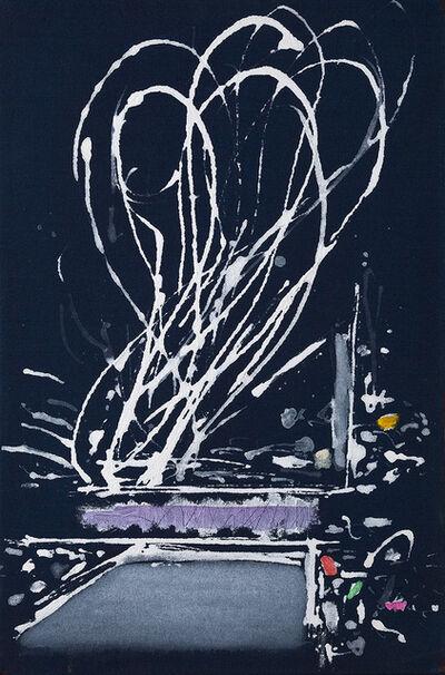Dan Christensen, 'Lonesome Day Blues', 2001