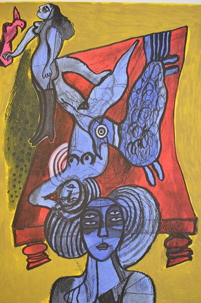 Corneille, 'Les trois femmes bleues', ca. 1990