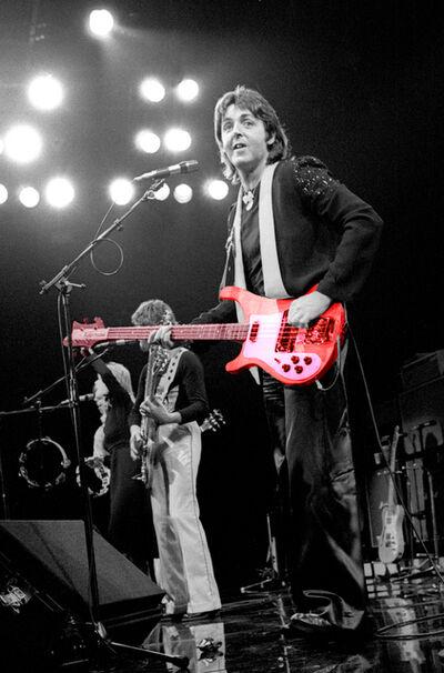 Richard E. Aaron, 'Paul McCartney 1976 Colorized Guitar on Hahnemuhle paper', 2000-2009
