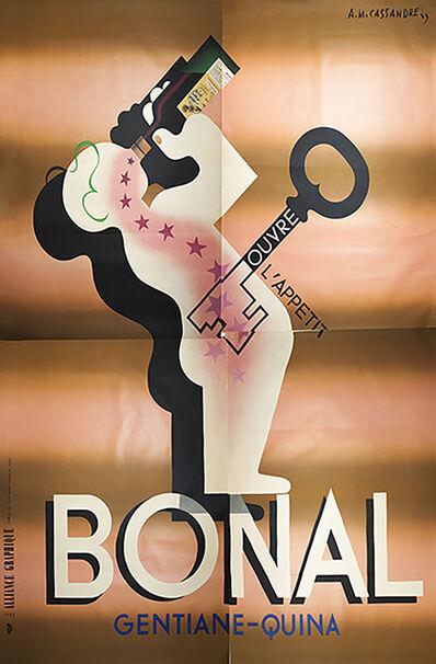 A.M. Cassandre, 'Liqueur Bonal (Quadriptych)', 1933