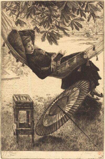 James Jacques-Joseph Tissot, 'The Hammock (Le hamac)', 1880