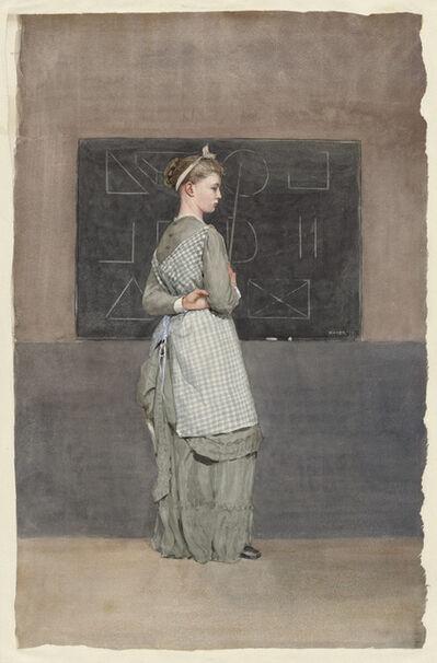 Winslow Homer, 'Blackboard', 1877