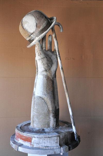 Shimon Okshteyn, 'Hat, Hand, Cane', 1999