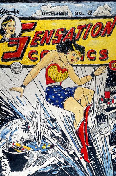 Leslie Lew, 'Wonder Woman Making a Splash'