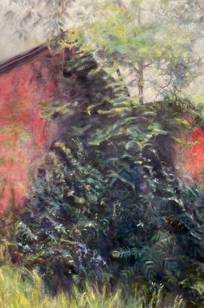 Helene Manzo, 'Red Barn Overgrowth', ca. 2020