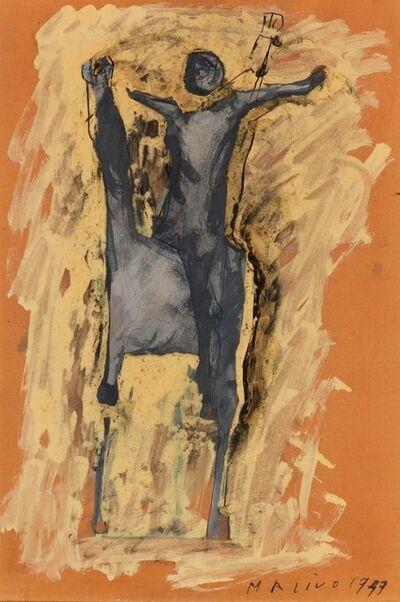 Marino Marini, 'Cavallo e Cavaliere a Braccia Aperte', 1949