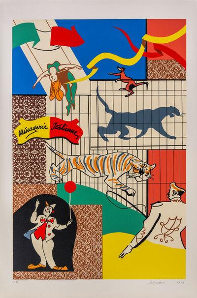 Alessandro Cervellati, 'Il circo', 1973