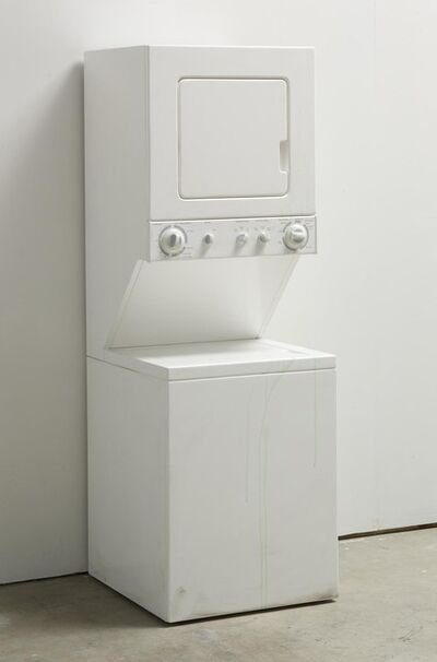 Kaz Oshiro, 'Washer/Dryer Combo (Green Soap Residue)', 2008