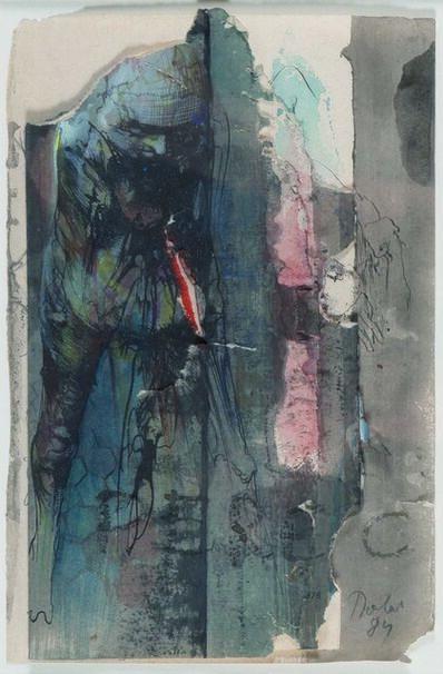 Miodrag Djuric, dit DADO, 'Sans Titre', 1984