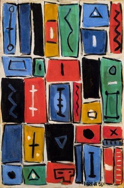 Miguel Ángel Pareja, 'Composición mural II', 1956