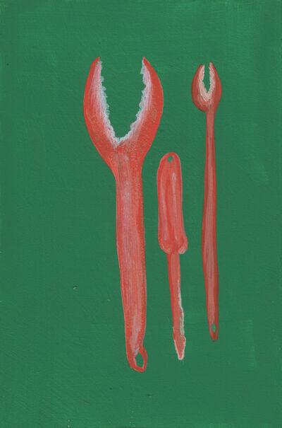Sandra Wang and Crockett Bodelson SCUBA, 'Crab Tools # 1', 2015