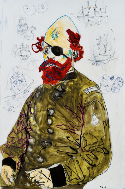 Farley Aguilar, 'Red Beard', 2016
