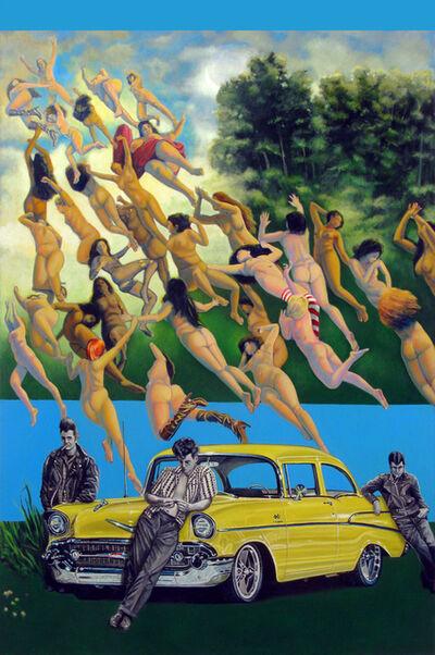 Bruce Adams, 'Untitled 008 (Flying Women)', 2016