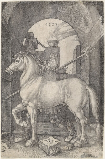 Albrecht Dürer, 'The Small Horse', 1505