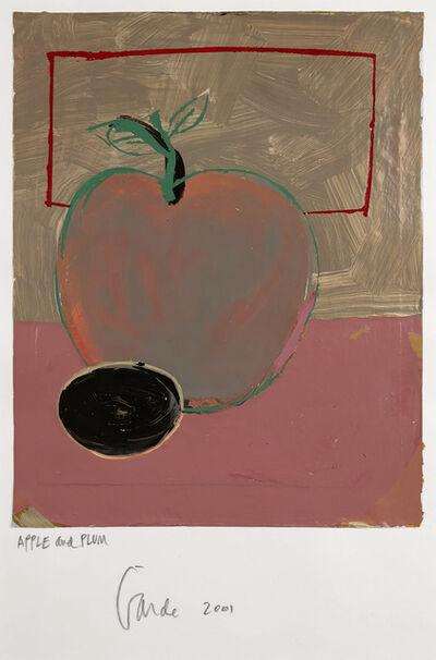Harold Garde, 'Apple and Plum', 2001