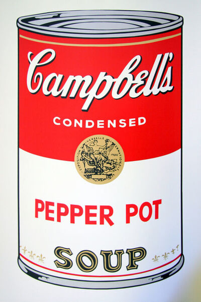 Andy Warhol, 'Campbell's Soup - Pepper Pot - Sunday B. Morning (After)'