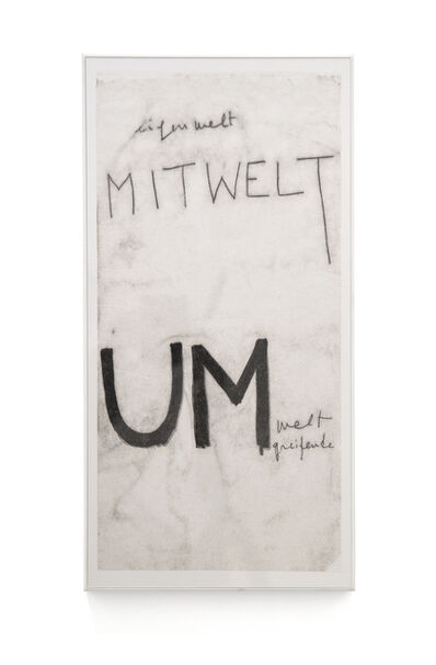 Mira Schendel, 'Untitled, from the Monotype series', 1964