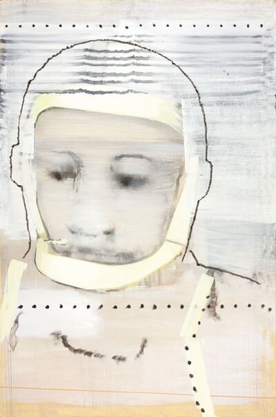 """Jonas Gasiūnas, '""""Write Your Name on the Glass of My Spacesuit, I Cannot Hear Your""""', 2009"""