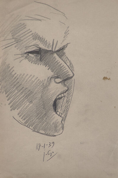 Julio González, 'Etude Pour la Tête Montserrat No. 2', 1939