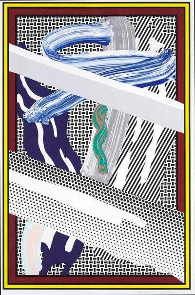 Roy Lichtenstein, 'Reflections On Expressionist Painting', 1990