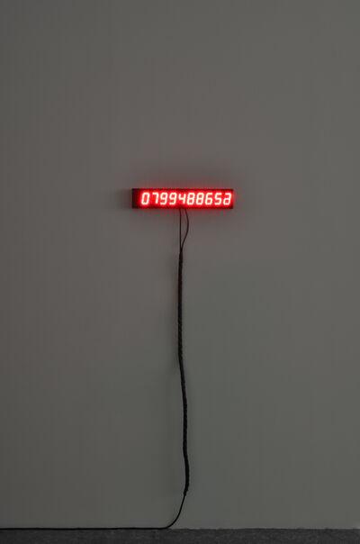 Christian Boltanski, 'Dernières secondes (Last Seconds)', 2014