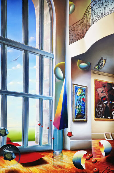Ferjo, 'GRAND WINDOW', ca. 2000