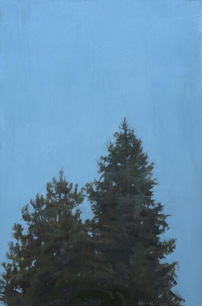 Marilyn Turtz, 'Evening Trees'