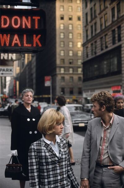 Jean-Marie Périer, 'Sylvie Vartan et Johnny Hallyday, New York, November 1963', 1963