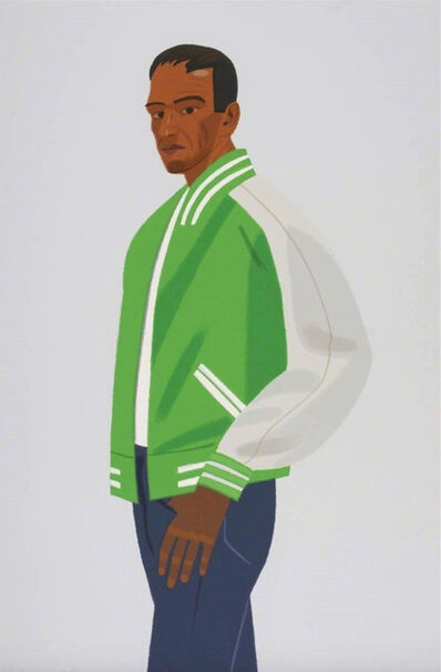 Alex Katz, 'Green Jacket', 1990