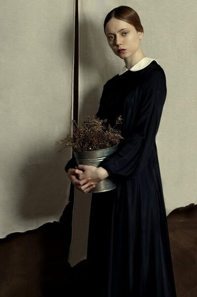 Romina Ressia, 'Woman with Flowers (Series: Memories From the Past)', 2014