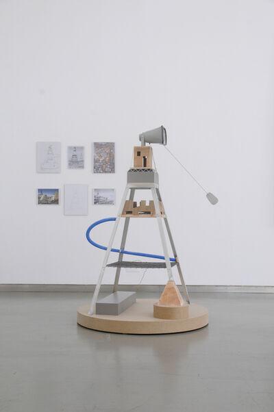Ângela Ferreira, 'TalkTower for Diego Rivera', 2017
