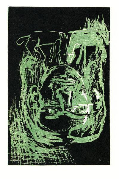 Georg Baselitz, 'Schwarzes Pferd', 1986