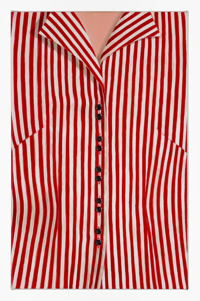 Jan Murray, 'Striped Blouse (Red)', 2014