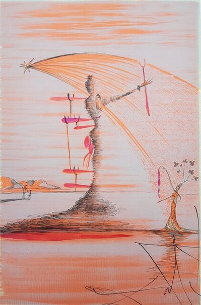 Salvador Dalí, 'La Femme dans le Cosmos (The Woman in the Cosmos Dominating the World)', 1957