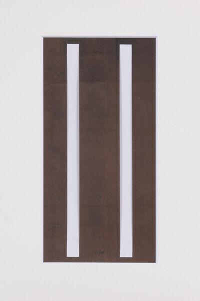 Unknown Artist, 'Ise katagami (stencil),broad stripes pattern, Japanese, Meiji period', 1868-1912