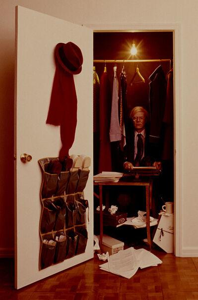 Carl Fischer, 'Andy Warhol in a Closet', 1975