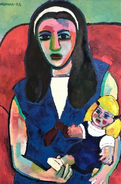 Daniel Brennan, 'Portrait of Joanne', 1960