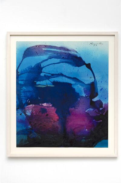 Matsumi Kanemitsu, 'Untitled (WC6)', 1973