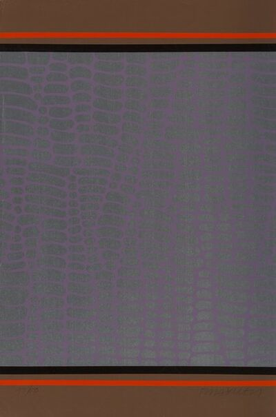 Paul Maxwell, 'Untitled (Purple and Brown Web) (two works)', c. 1978