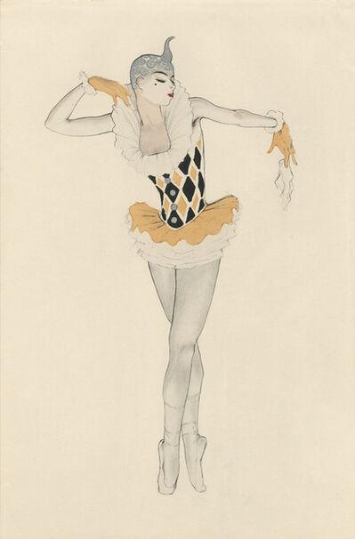 """Walter Schnackenberg, '""""Columbine"""", Ballet und Pantomime (plate 20)', 1920"""