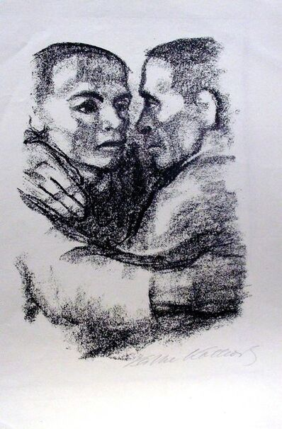 Käthe Kollwitz, 'Verbrüderung (Bortherhood) ', 1924