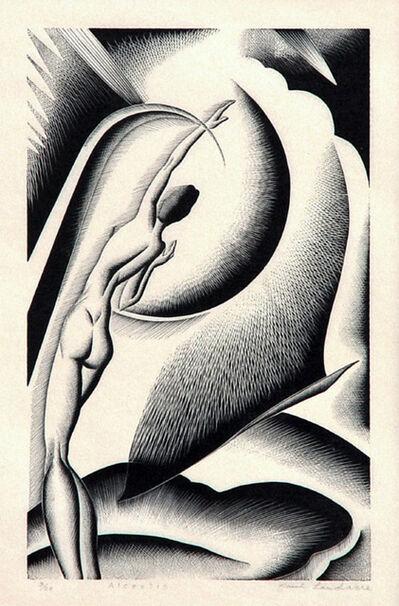 Paul Landacre, 'Alcestis', 1934