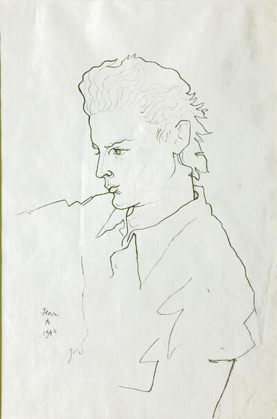 Jean Cocteau, 'Portrait de Georges Marchal ', 1944