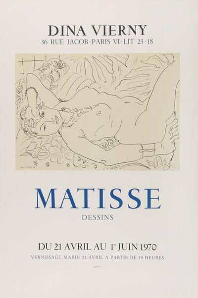 Henri Matisse, 'Dina Vierny Matisse', 1970