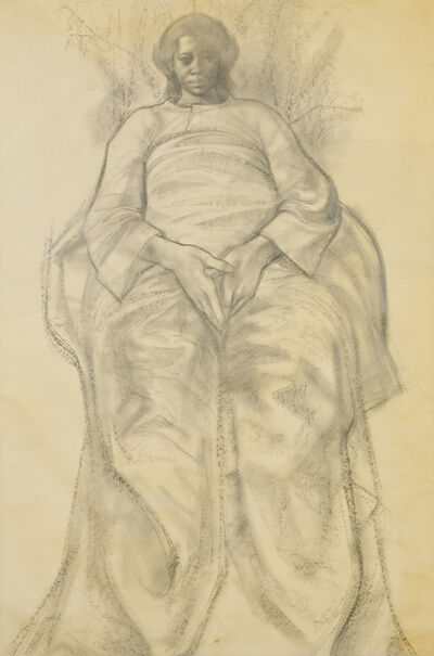 Charles White, 'Study for Cathedral of Life', 1967